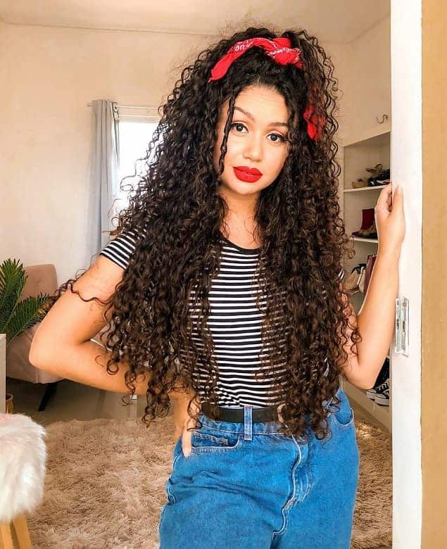11 Of The Hottest Long Curly Hairstyles With Layers Hairstylecamp