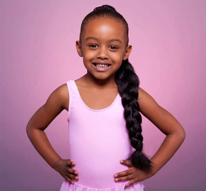 20 Cute Easy Natural Hairstyles For Your Little Girls Hairstylecamp