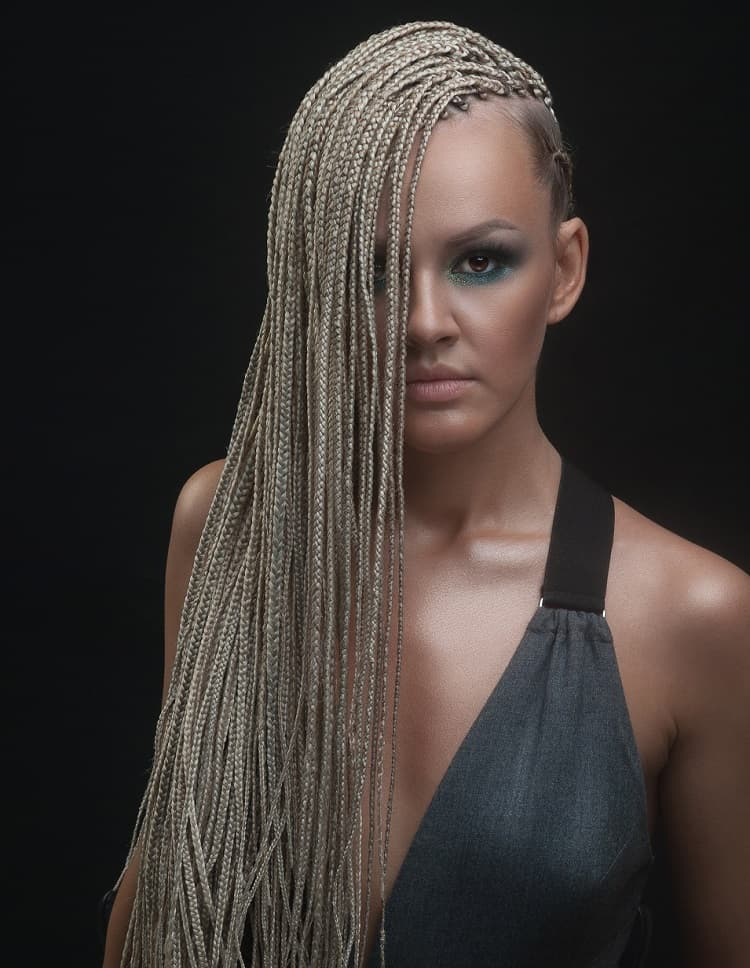 31 Unbeatable Long Box Braids To Explore Hairstylecamp