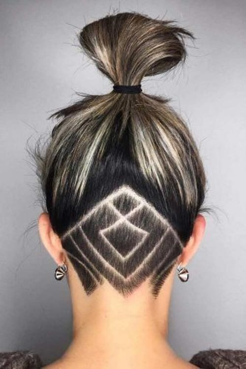 25 Valiant Undercut Hairstyles for Women with Long Hair