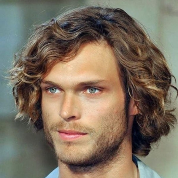 10 Handsome Long Wavy Hairstyles For Men Hairstylecamp