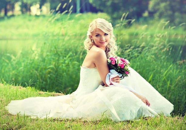 women long wedding hairstyle