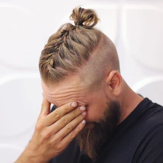 40 Versatile Man Bun Braids To Look Handsome Hairstylecamp