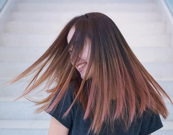 how to dry matte finished hair