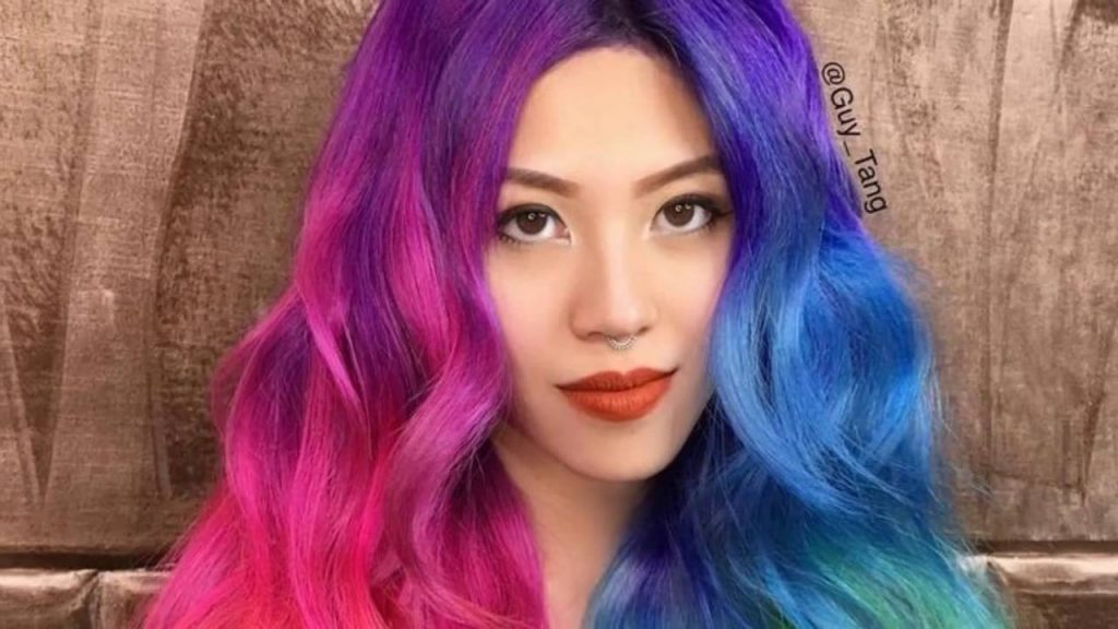 10 Rainbow Hair Colors To Make A Glamorous Entrance