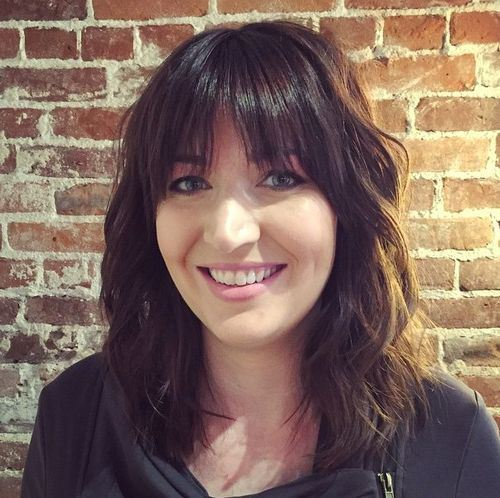 50 Must Try Bangs For Women With Medium Hair Hairstylecamp