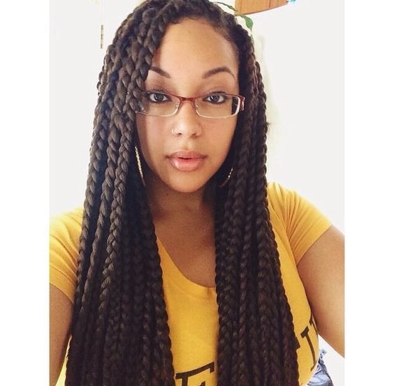 medium box braids 7