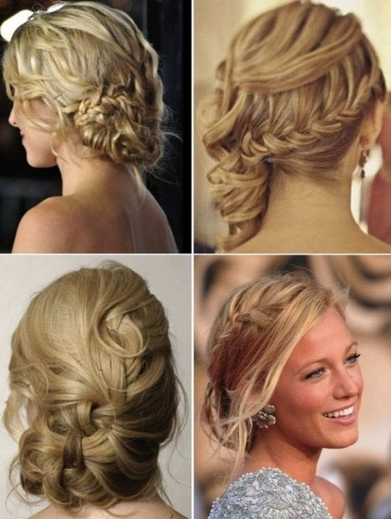 20 magical updos dedicated to medium length hair updos for medium hair with bangs pmusecretfo Choice Image