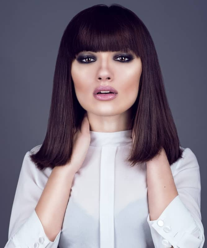 25 Most Flattering Hairstyles For Square Faces Hairstylecamp