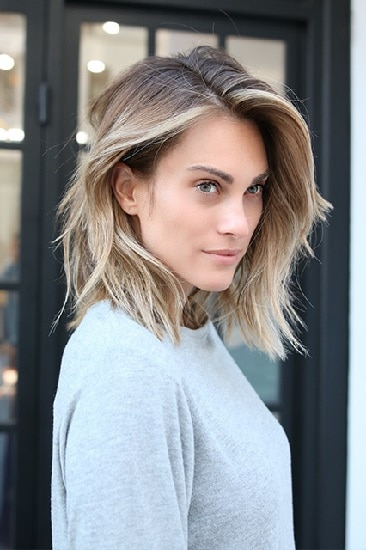 45 Flawless Medium Hairstyles For Women With Thin Hair 2020