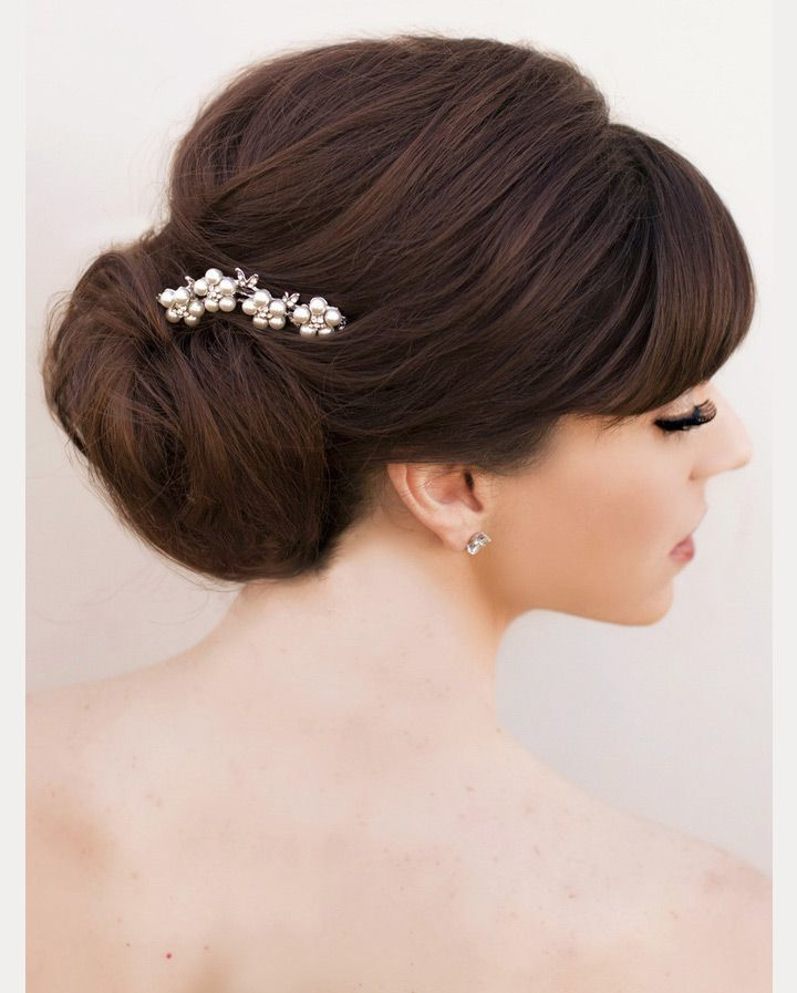 Wedding Hairstyles Fringe: 45 Magical Updos Dedicated To Medium Length Hair