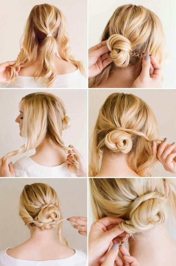 12 Magical Updos Dedicated to Medium Length Hair