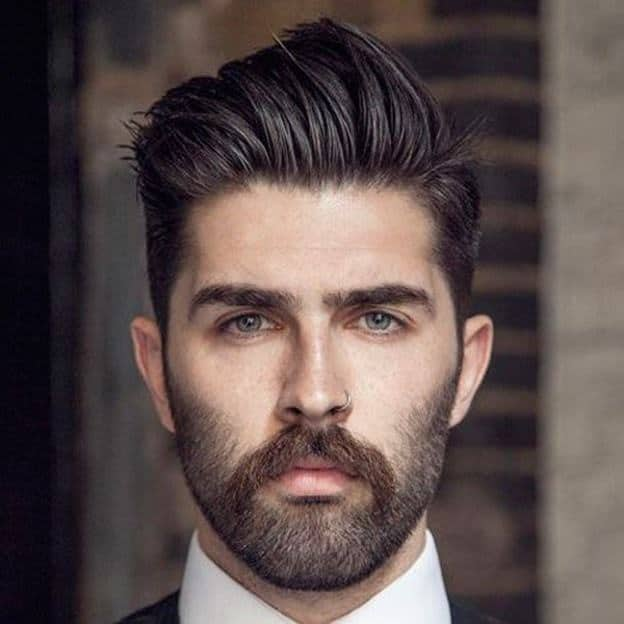 10 Coolest Manly Hairstyles For Oval Face
