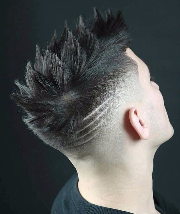 80 Most Creative Haircut Designs With Lines Patterns