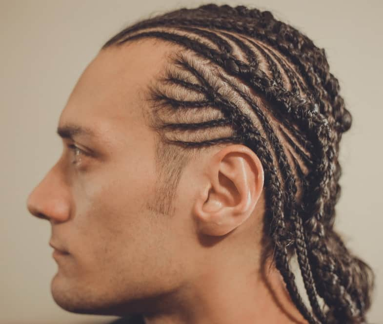 men's cornrow