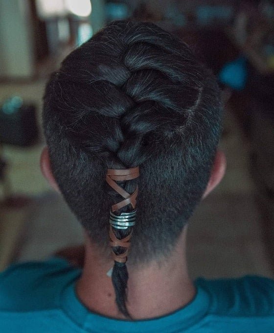 15 Kick Ass French Braid Hairstyles For Men Hairstylecamp