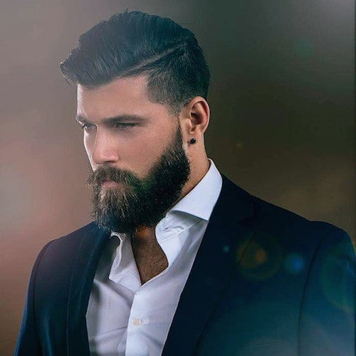 Swell 10 Mens Hairstyles Thatll Look Good With A Full Beard Natural Hairstyles Runnerswayorg
