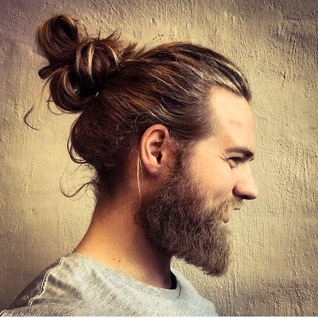 full long beard cut with nice hair