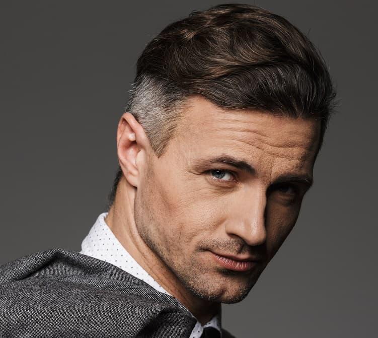men's wavy hair