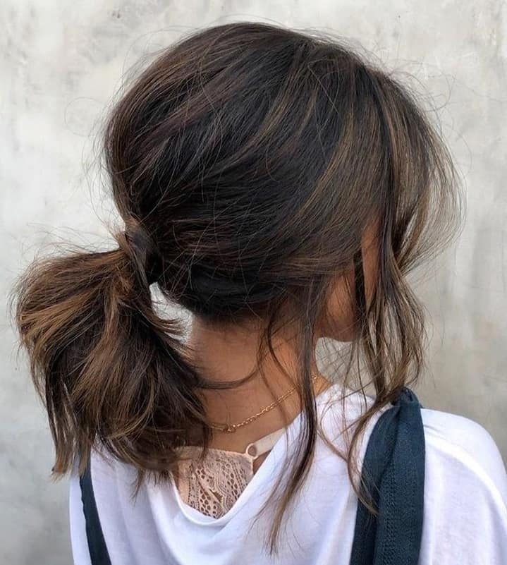 Short Hair Ponytails The 10 Most Charming Ideas For 2020