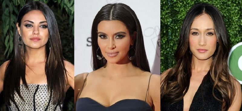 25 Exemplary Middle Part Hairstyles For Women