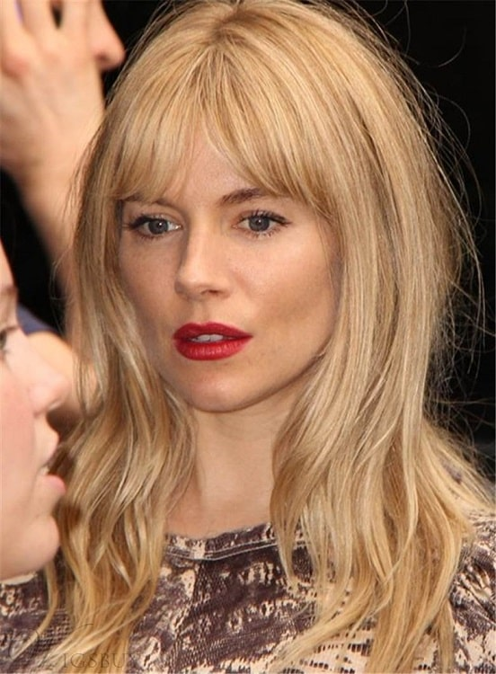 15 Majestic Middle Parted Bangs Hairstyles To Try