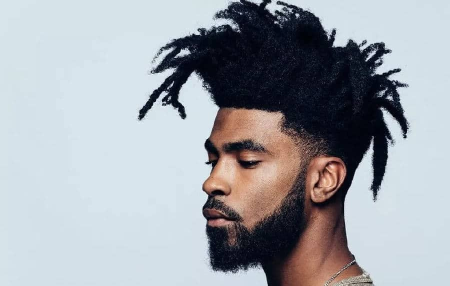 20 Unique Mohawk Dreads For Men To Inspire