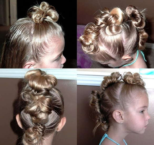 7 Unique Mohawk Hairstyles For Little Girls Hairstylecamp