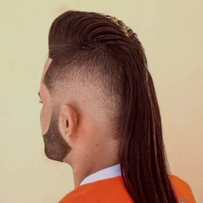 11 Mohawk Mullet For Men To Get A Punk Look Hairstylecamp