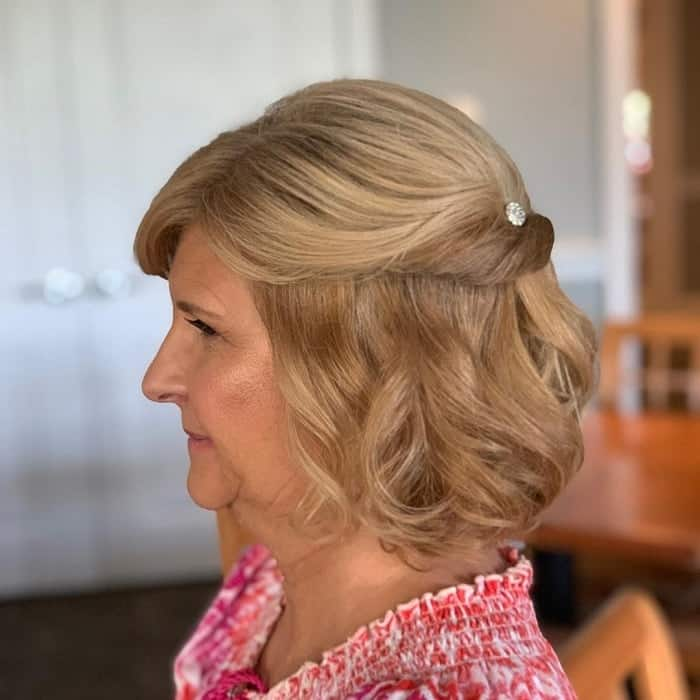 75 Blissful Mother Of The Groom Hairstyles Trending In 2021