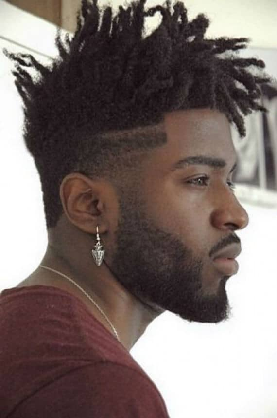 Floppy Dreads With Hair Art Fade Ny High Top