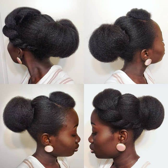 20 Beautiful Natural Hair Updos Trending This Year