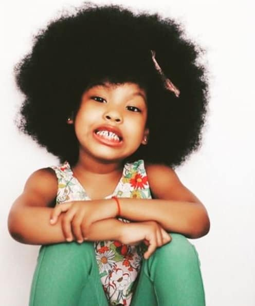 Marvelous 7 Cute Easy Natural Hairstyles For Your Little Girls Hairstylecamp Natural Hairstyles Runnerswayorg