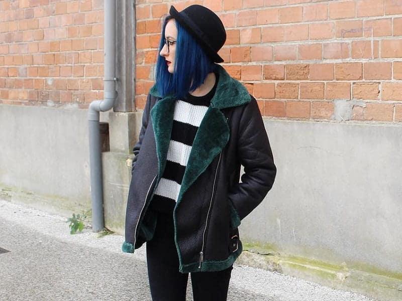 15 Statuesque Navy Blue Hair Color Ideas Hairstylecamp