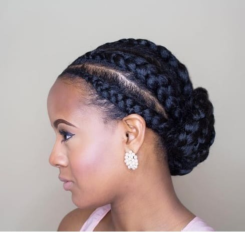 20 Gorgeous Nigerian Braided Hairstyles