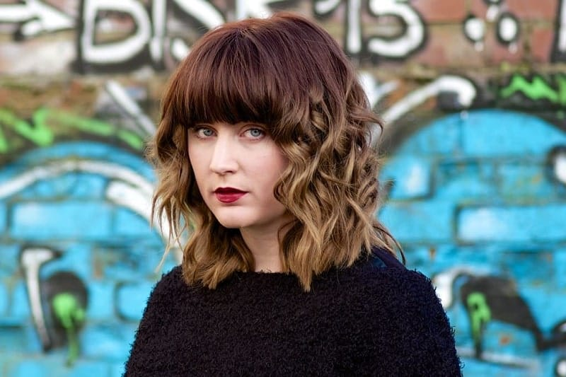 30 Epic Ombre Hair Color Ideas With Bangs To Uplift Beauty