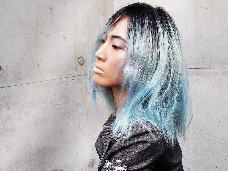 6 Reasons People Are Coloring Their Hair Pastel Blue