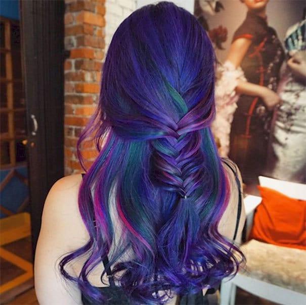 Top Peacock Hair Colors For Women HairstyleCamp - Peacock hairstyle color