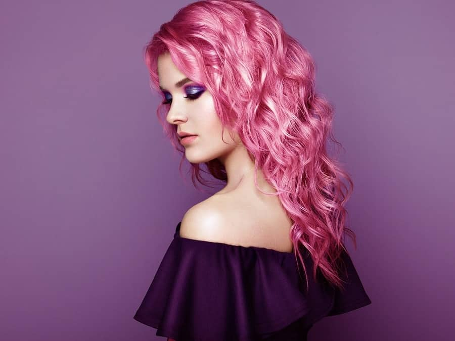 11 Pink Curly Hairstyles That Ooze Cuteness