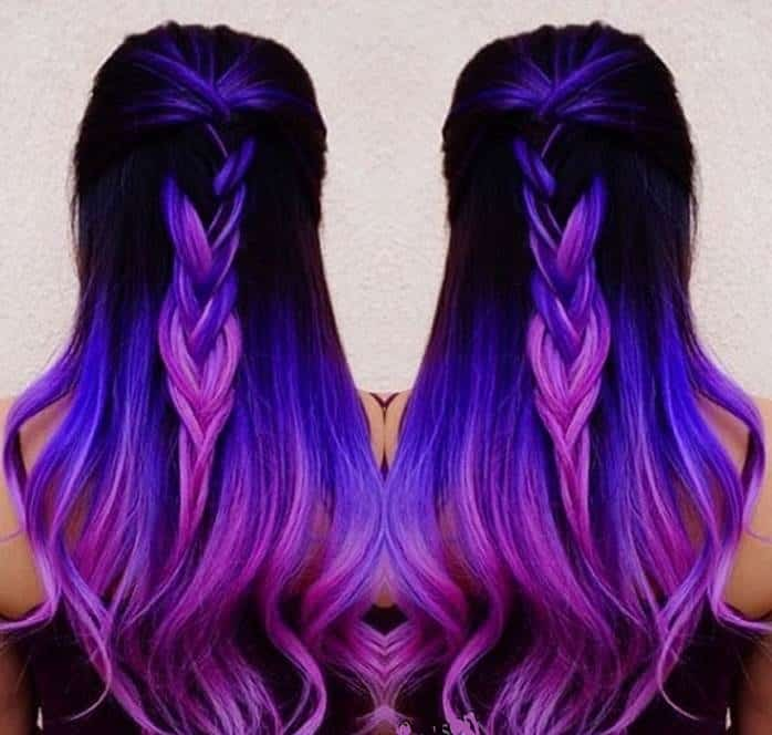 12 Outre Pink Purple And Blue Hairstyles For Women