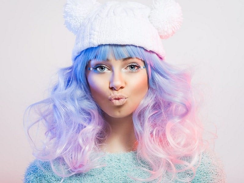 12 Outre Pink, Purple and Blue Hairstyles for Women