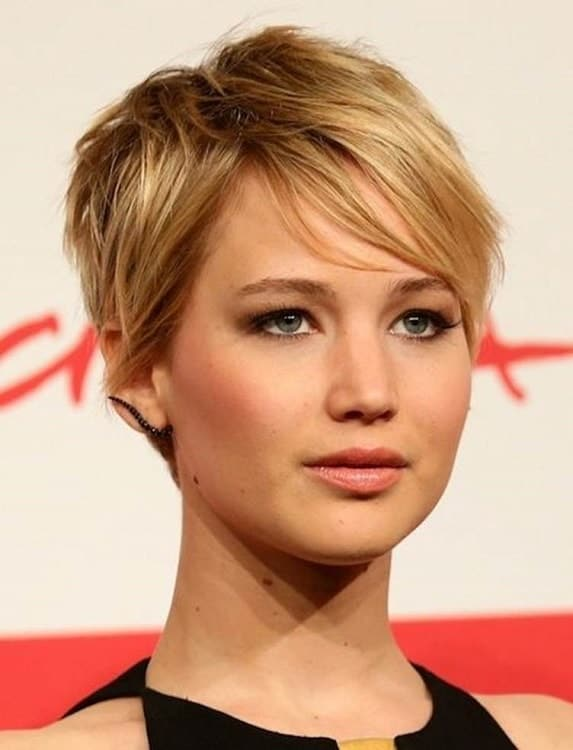 35 Ideal Pixie Cuts For Women With Round Face 2019
