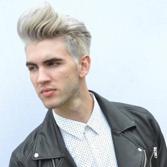 10 Dazzling Platinum Blonde Hairstyles for Men