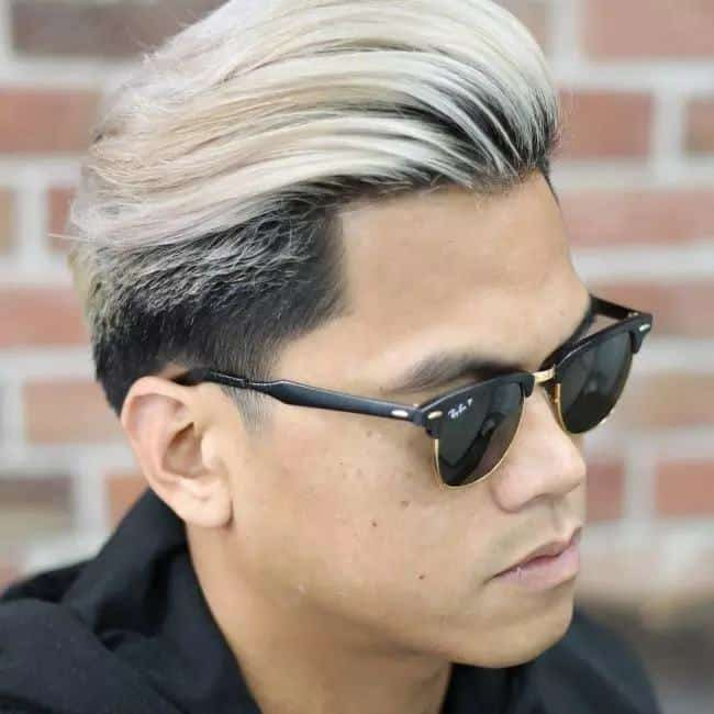 10 Dazzling Platinum Blonde Hairstyles For Men