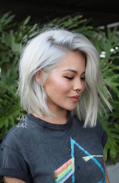 11 Superb Short Platinum Blonde Hairstyles For Women Hairstylecamp