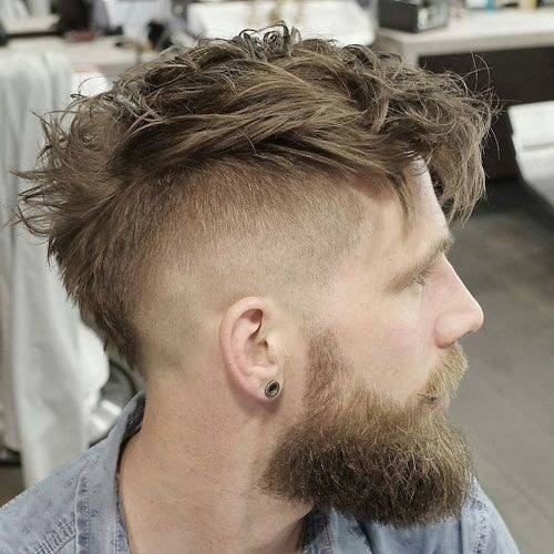 pompadour with undercut for men