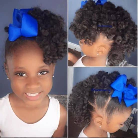 33 Perfect Ponytail Hairstyles For Little Black Girls
