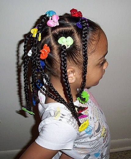 Terrific 33 Perfect Ponytail Hairstyles For Little Black Girls Natural Hairstyles Runnerswayorg