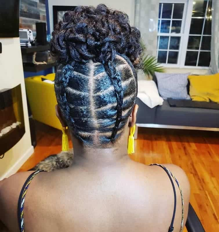 21 Protective Styles For Short Natural Hair 2020 Trends