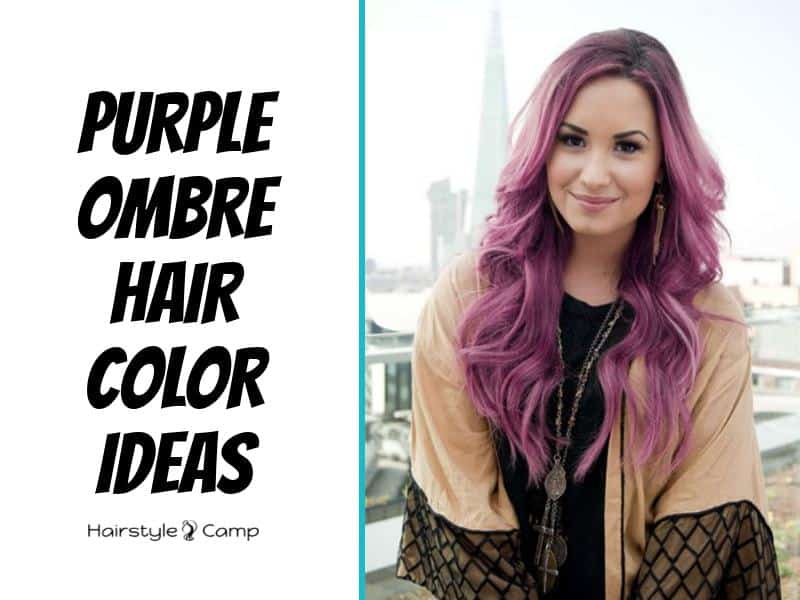 10 Chic Purple Ombre Hair Color Ideas Hairstylecamp